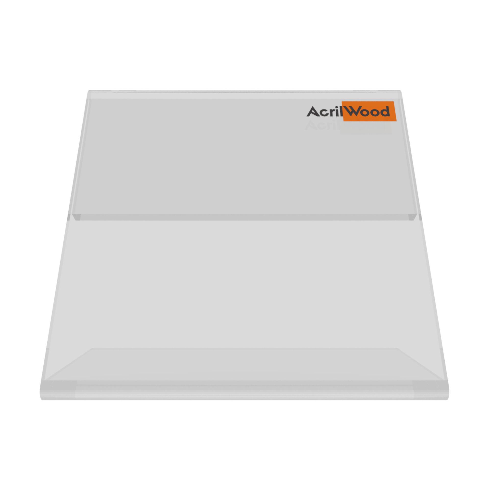 Display Precificador Em Acrílico Em L - 5x5cm