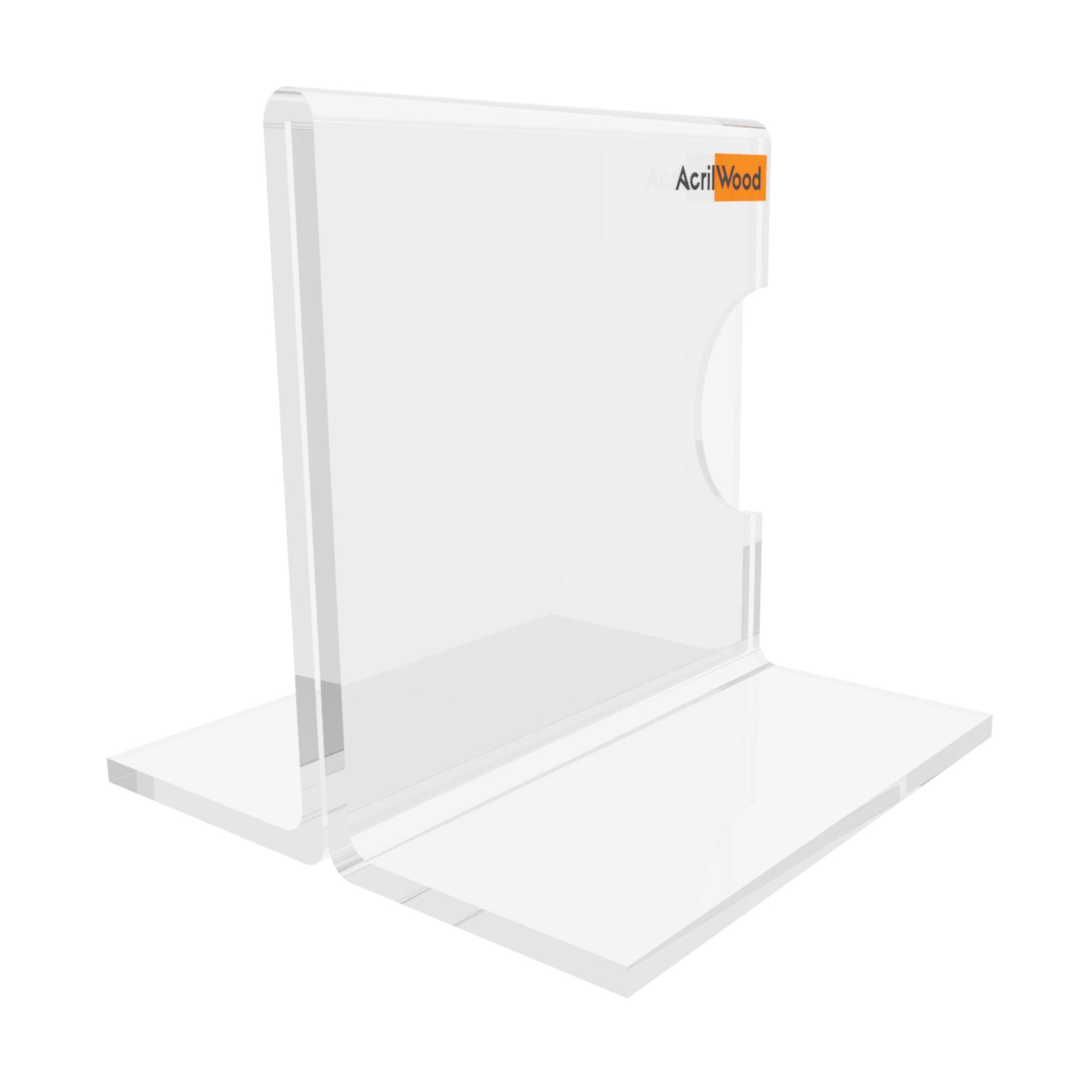 Display Precificador Em Acrílico Em T - 5x5cm