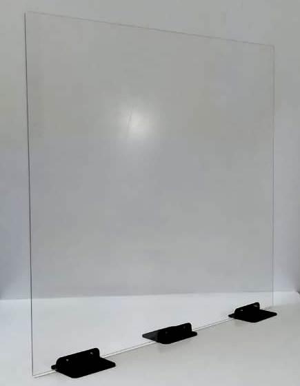 Divisória de Mesa c/ Base 50x50cm