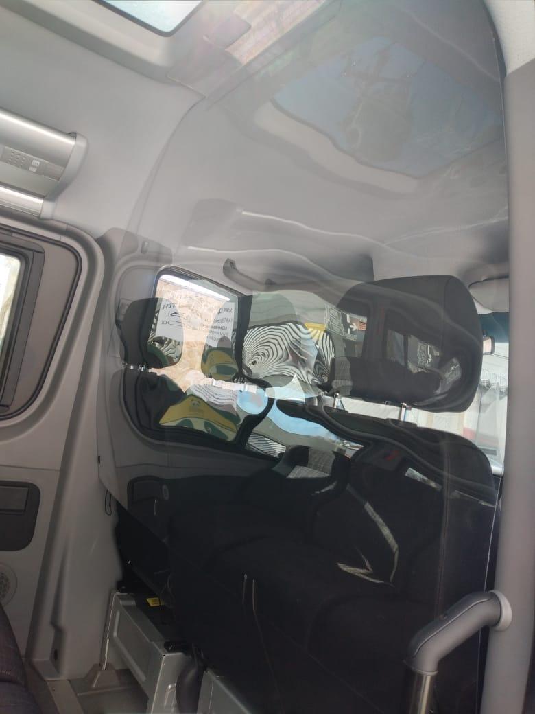 Escudo Protetor Salivar Para Vans - Acima De 10 Unidades