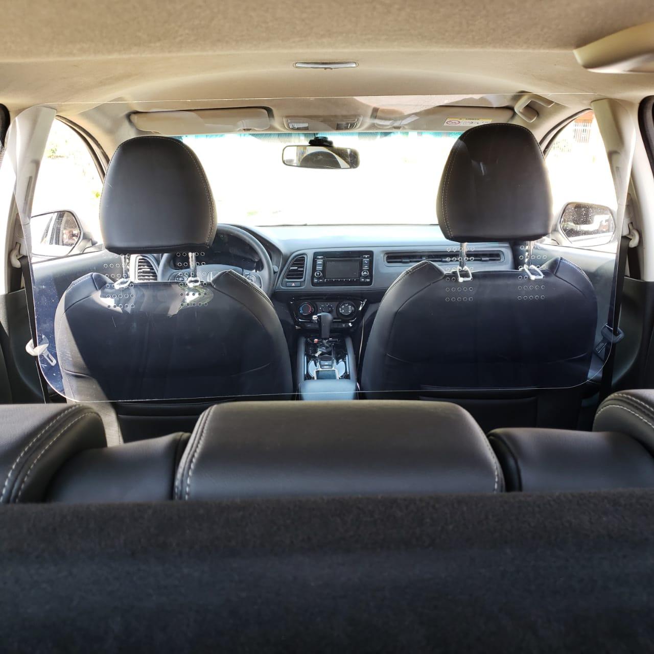 Escudo Protetor Salivar Uber E Taxi 105x60cm