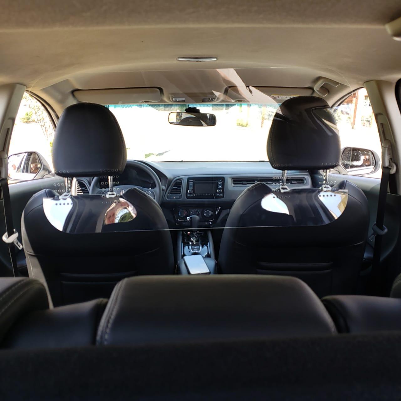 Escudo Protetor Salivar Uber E Taxi 98x49cm