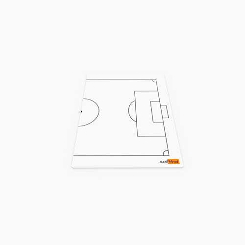 Prancheta Tática Em Acrílico 2 Faces - Futebol