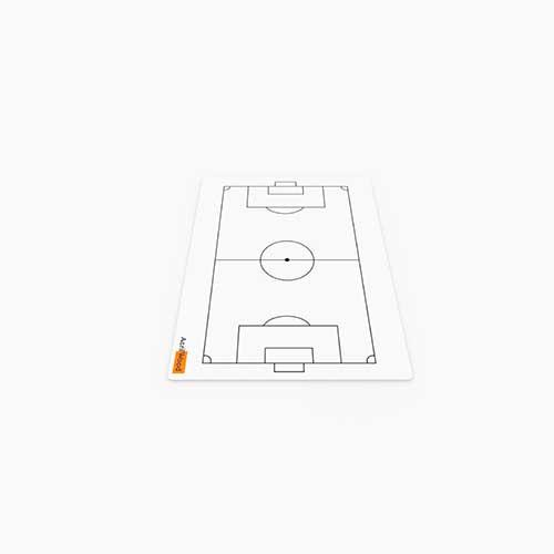 Prancheta Tática Em Acrílico 2 Faces - Futebol De Areia