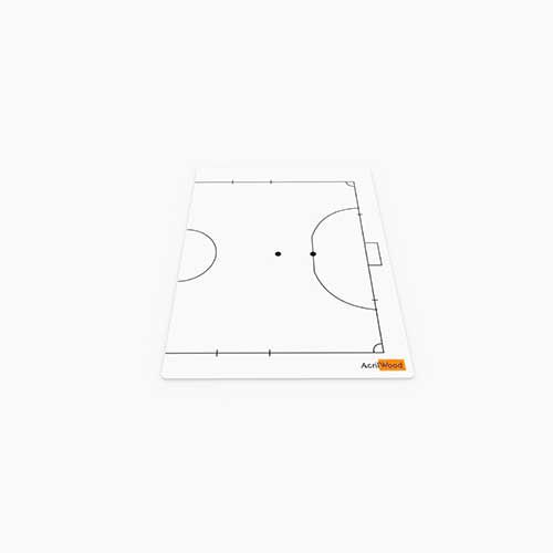 Prancheta Tática Em Acrílico 2 Faces - Futsal