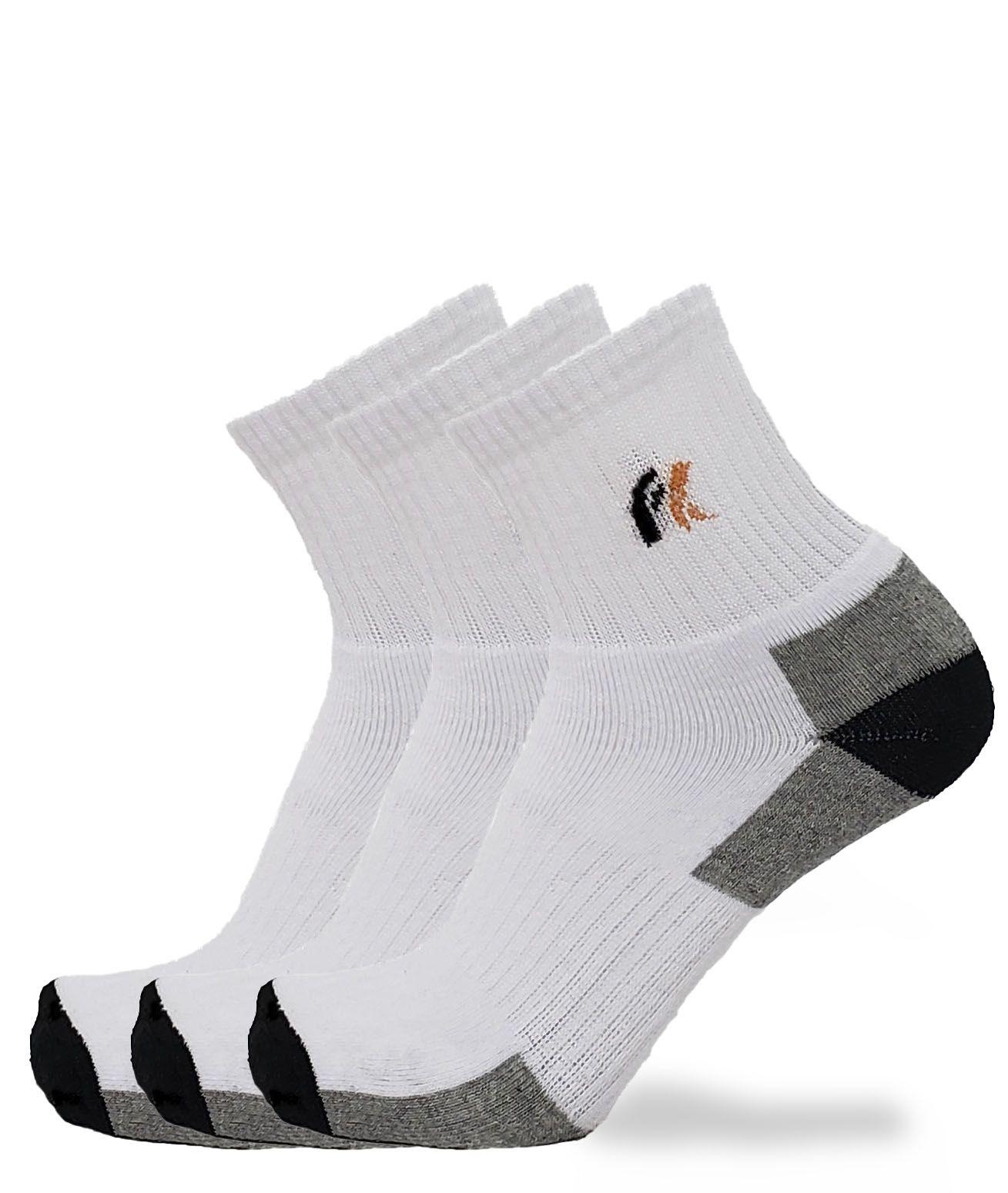 KIT COM 3 MEIAS FOOTLOOK FL04LY 39/43
