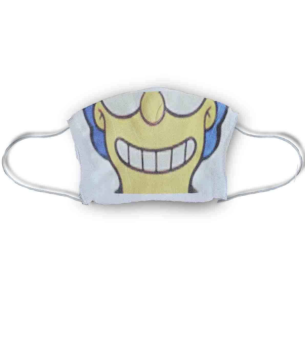 Mascara divertida estampada marge simpson