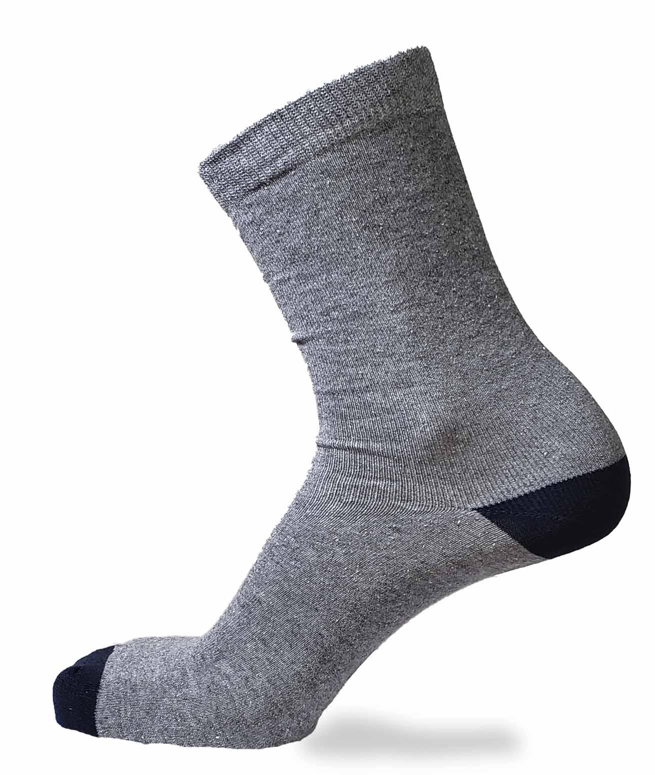 MEIA FOOTLOOK CASUAL MESCLA 39/43