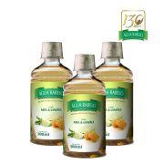 Água Rabelo Tradicional com Mel e Limão Kit 3 uni. 500ml