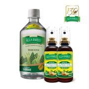 Kit Água Rabelo Tradicional 500ml +2 Sprays 6 em 1