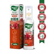 Spray Bucal Antibacteriano de Romã com CPC Natures Way 60 ml