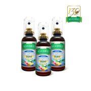 Kit 3 uni. Spray bucal Zero Açúcar 45ml Água Rabelo