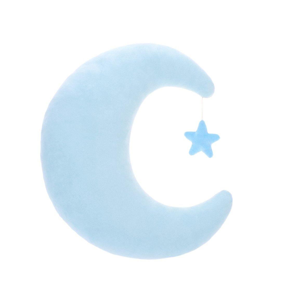 Almofada büp baby Lua Azul