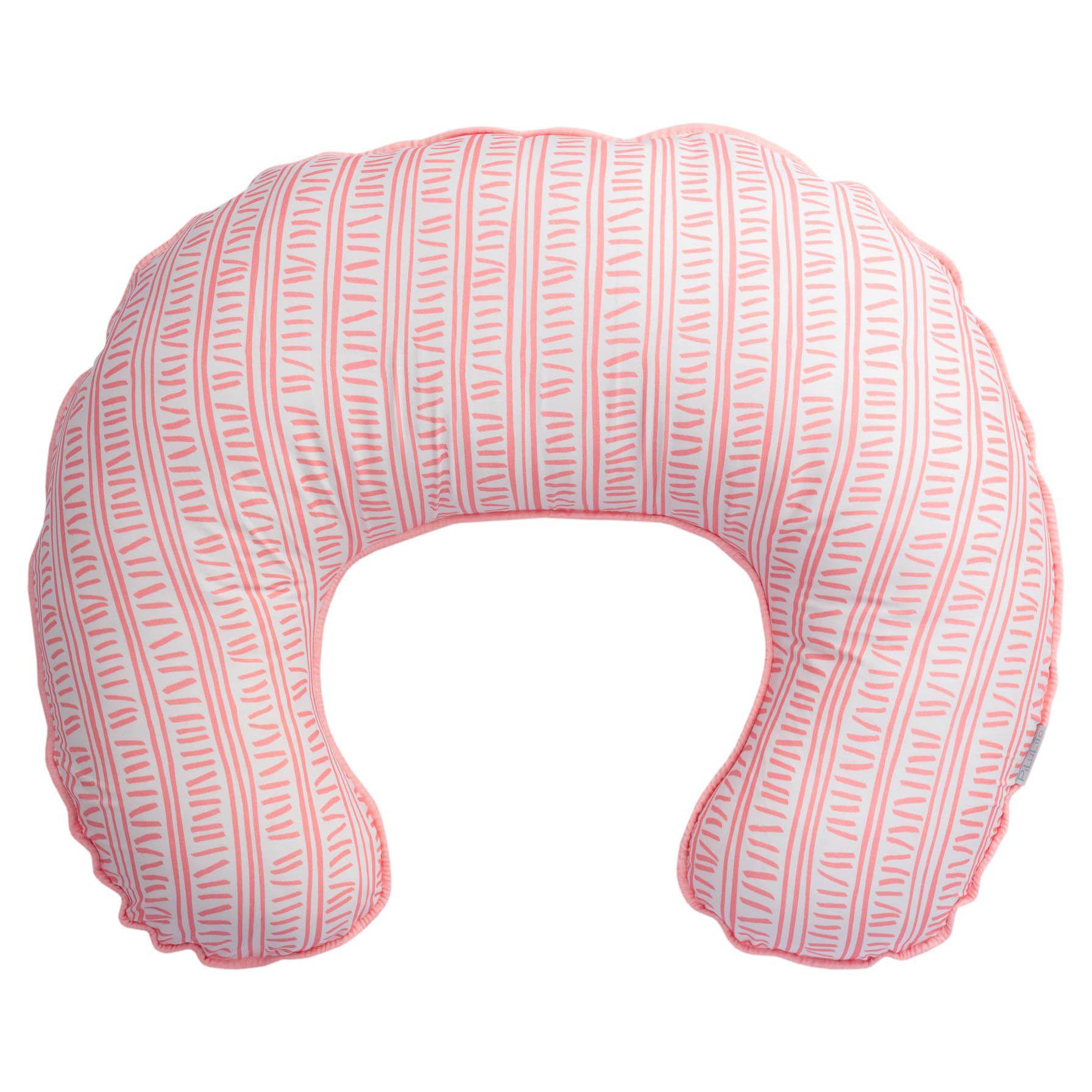 Almofada de amamentação trilha rosa