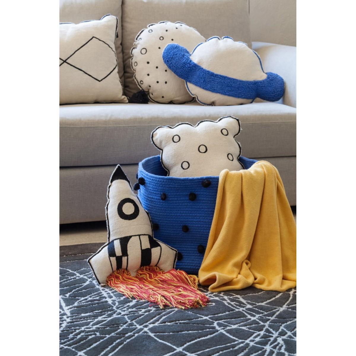 Almofada Lorena Canals Foguete 65 x 30 cm