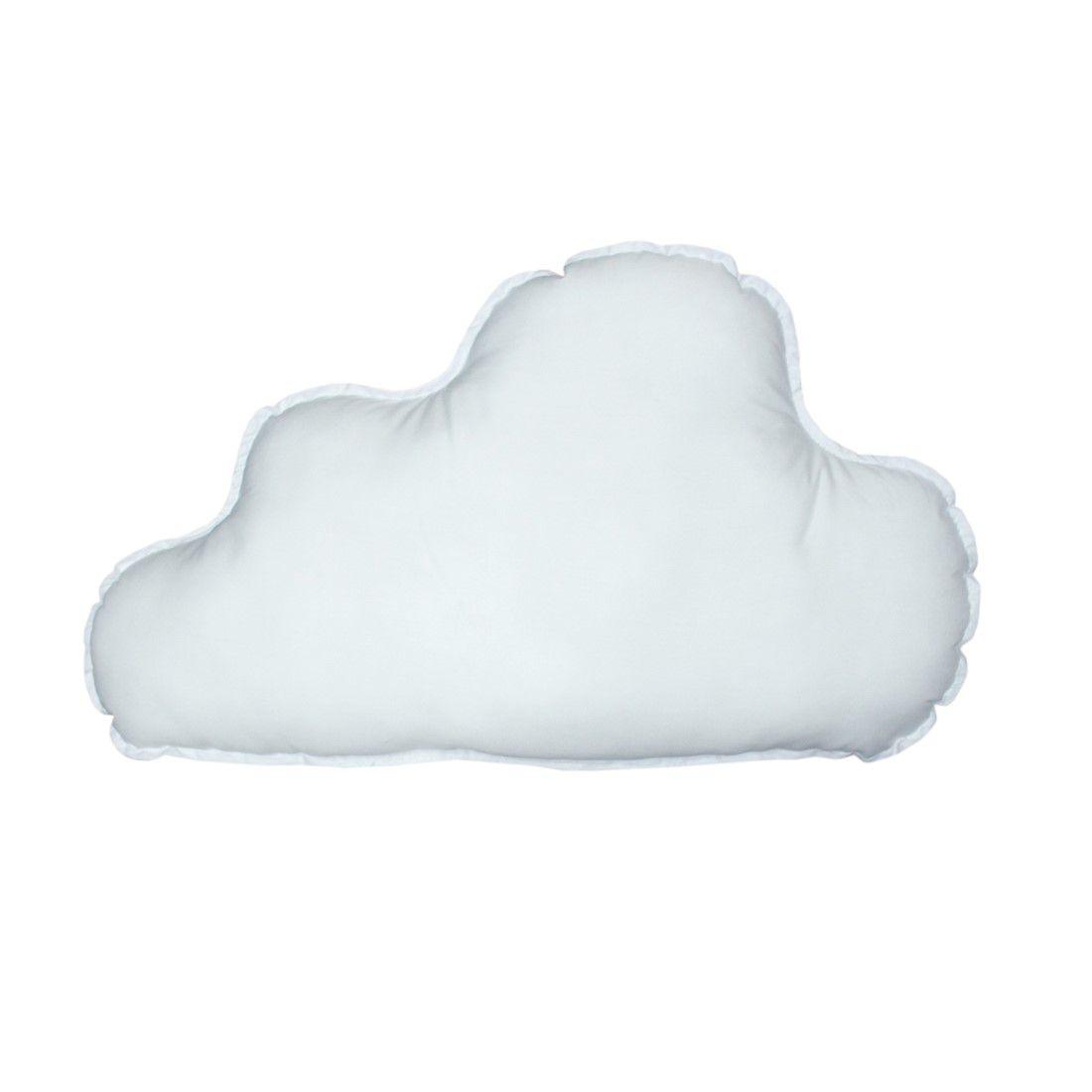Almofada nuvem grande branca