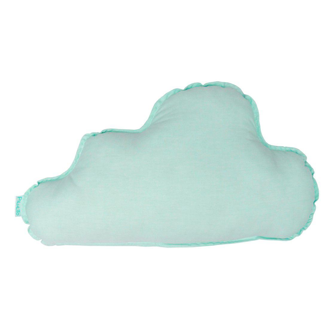 Almofada nuvem grande hortelã suave