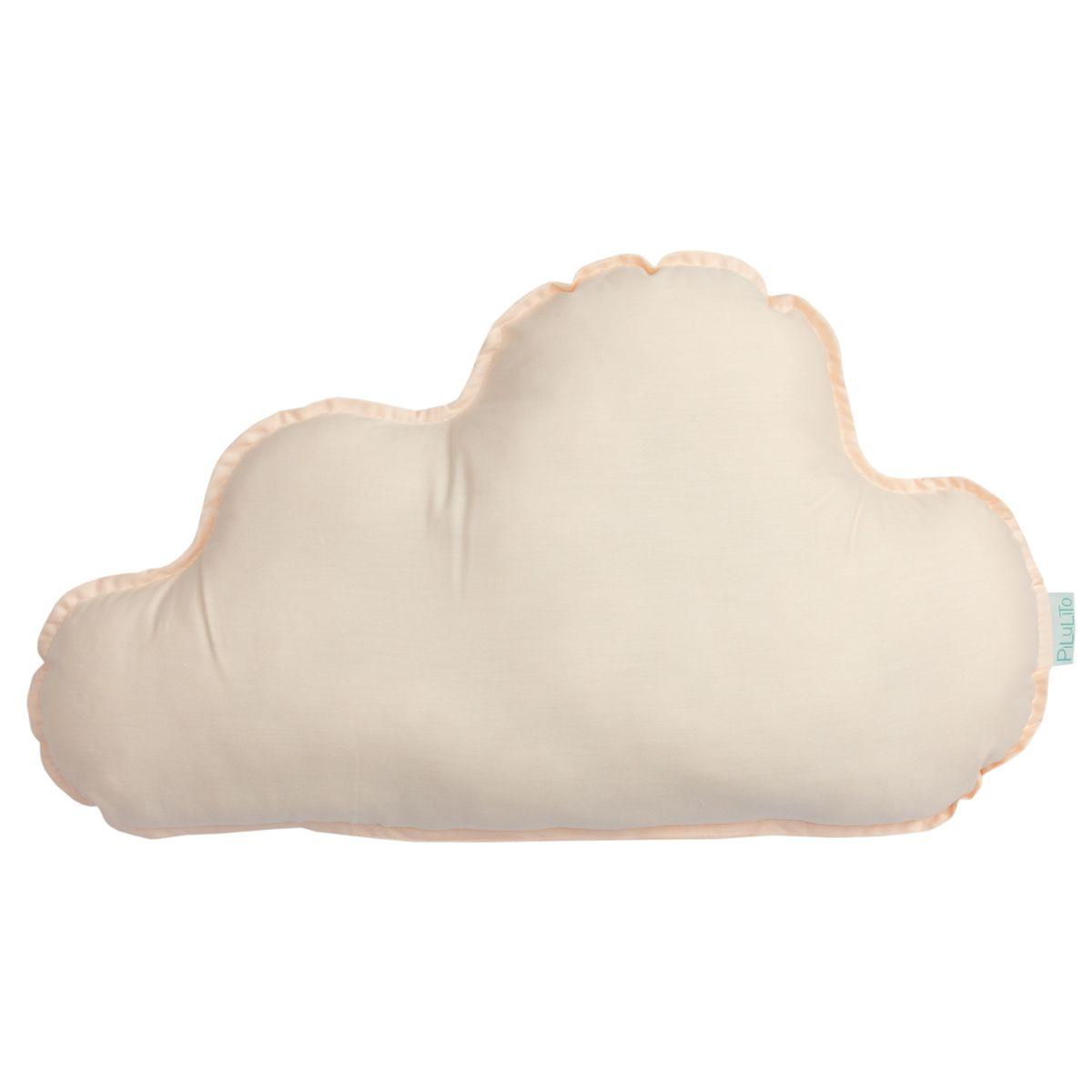 Almofada nuvem grande salmão suave
