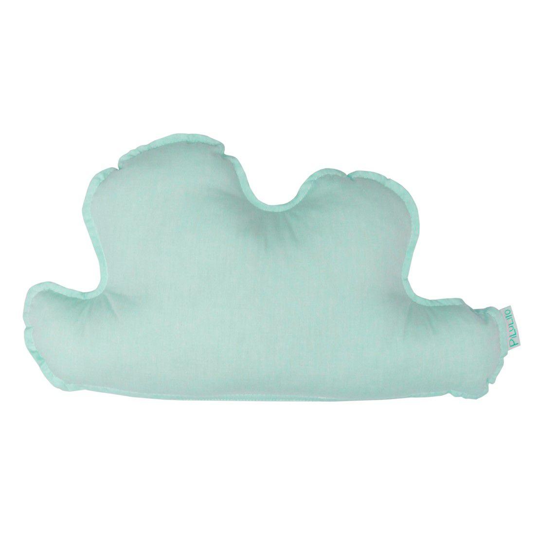 Almofada nuvem pequena hortelã suave