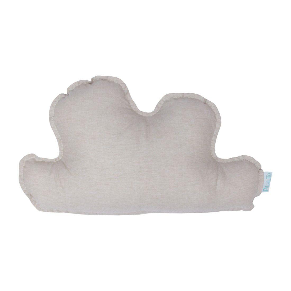 Almofada nuvem pequena  linho