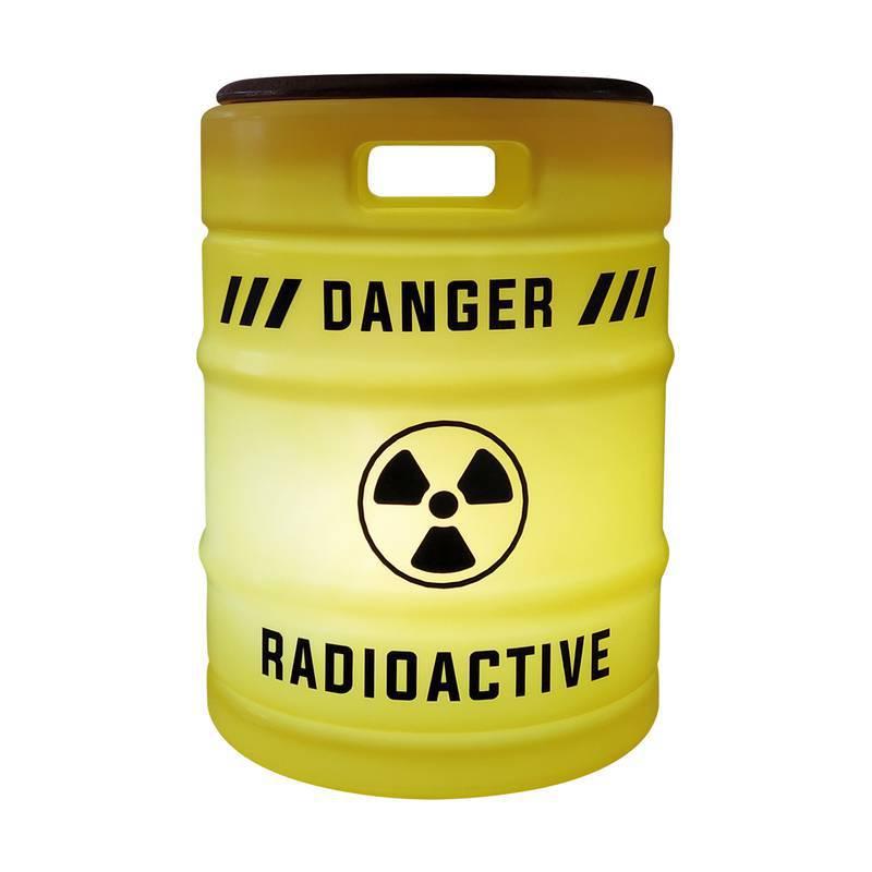 Banco Luminoso Barril Radioativo