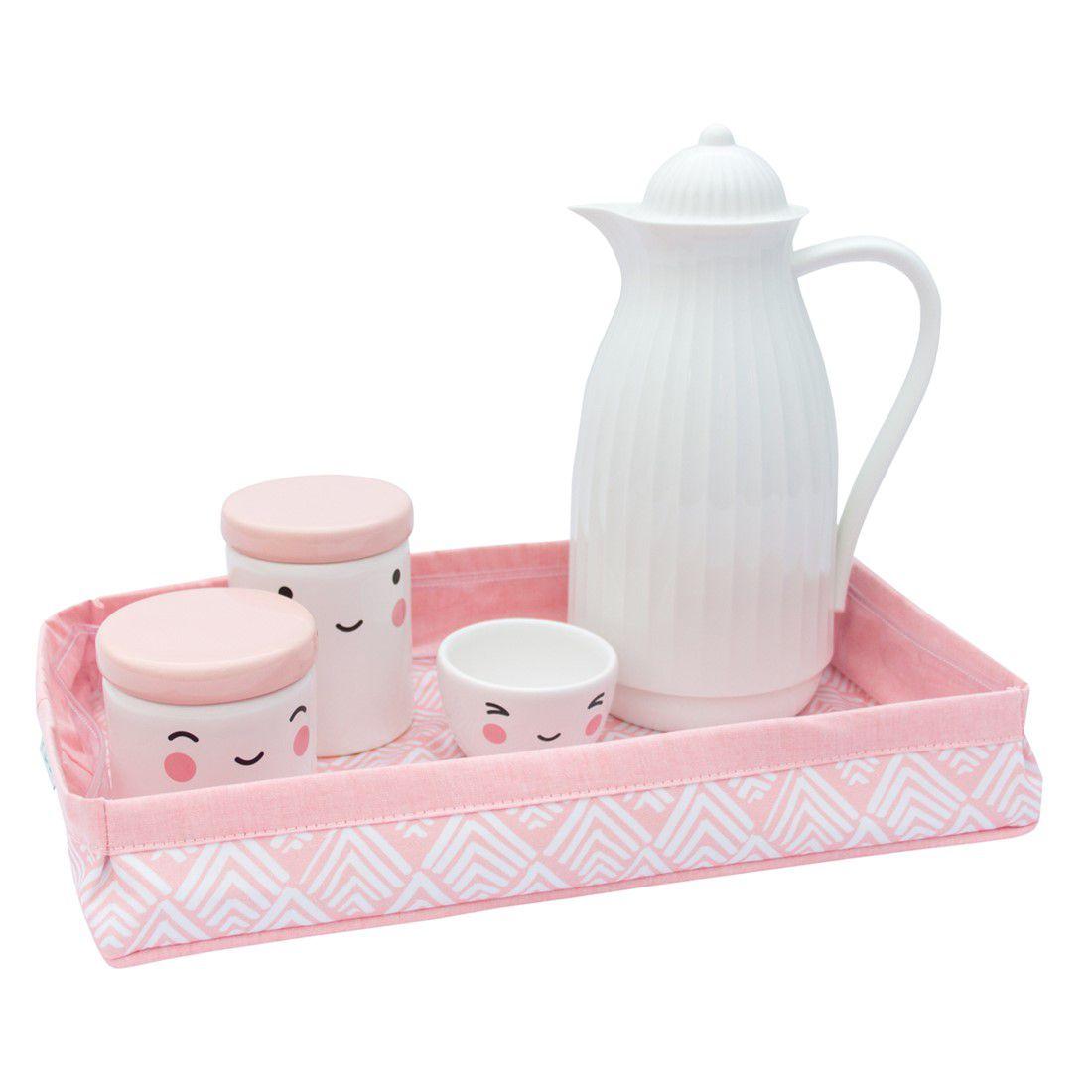 bandeja oca rosa chá