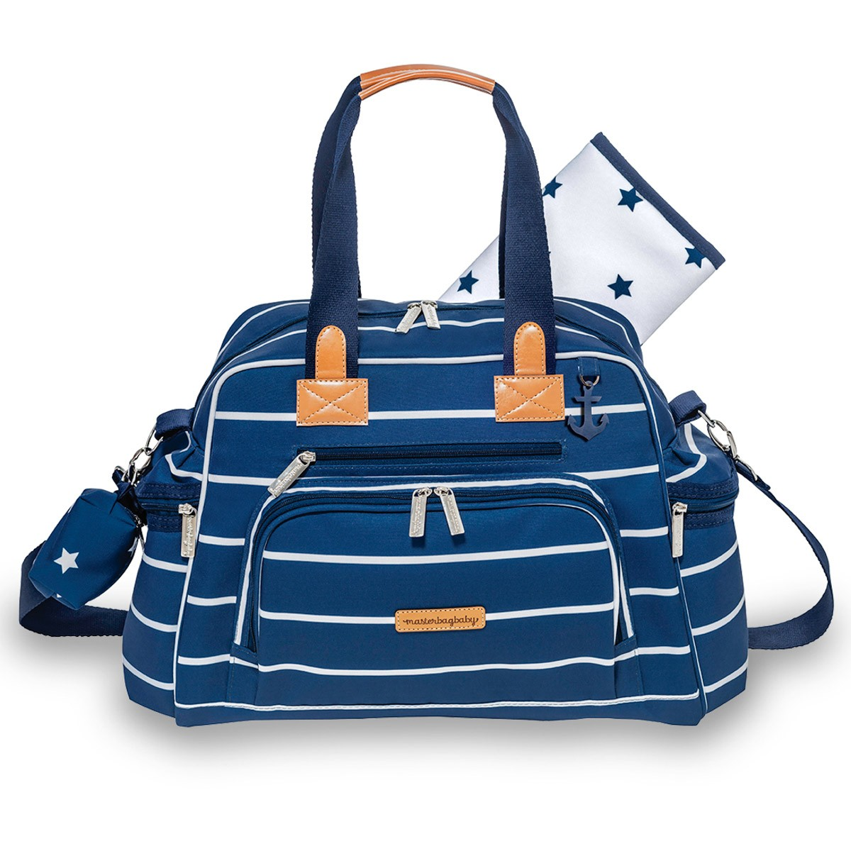 BOLSA MATERNIDADE MASTERBAG EVERDAY NAVY STAR