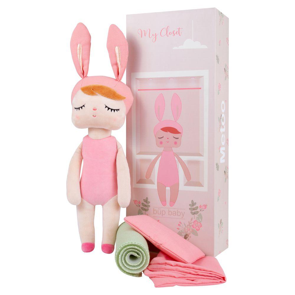 Boneca Metoo com caixa Angela Fashion