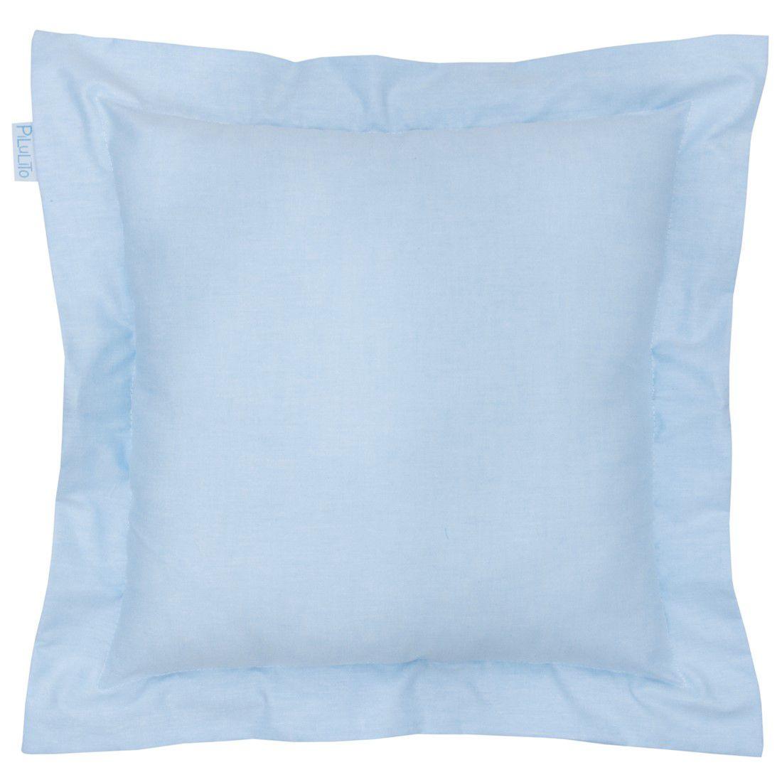 Capa de almofada 40x40cm azul céu