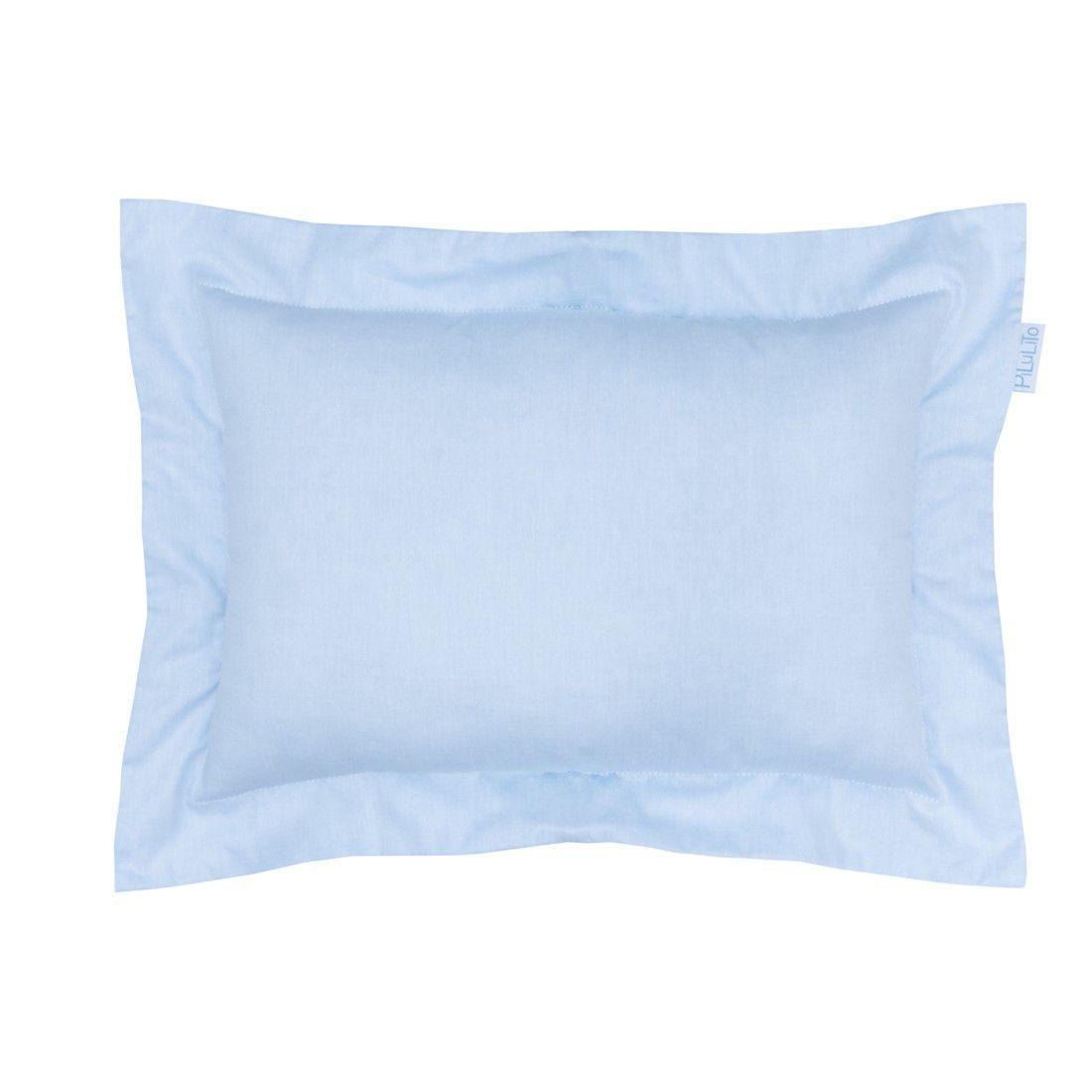 Capa de almofada 45x30cm azul céu