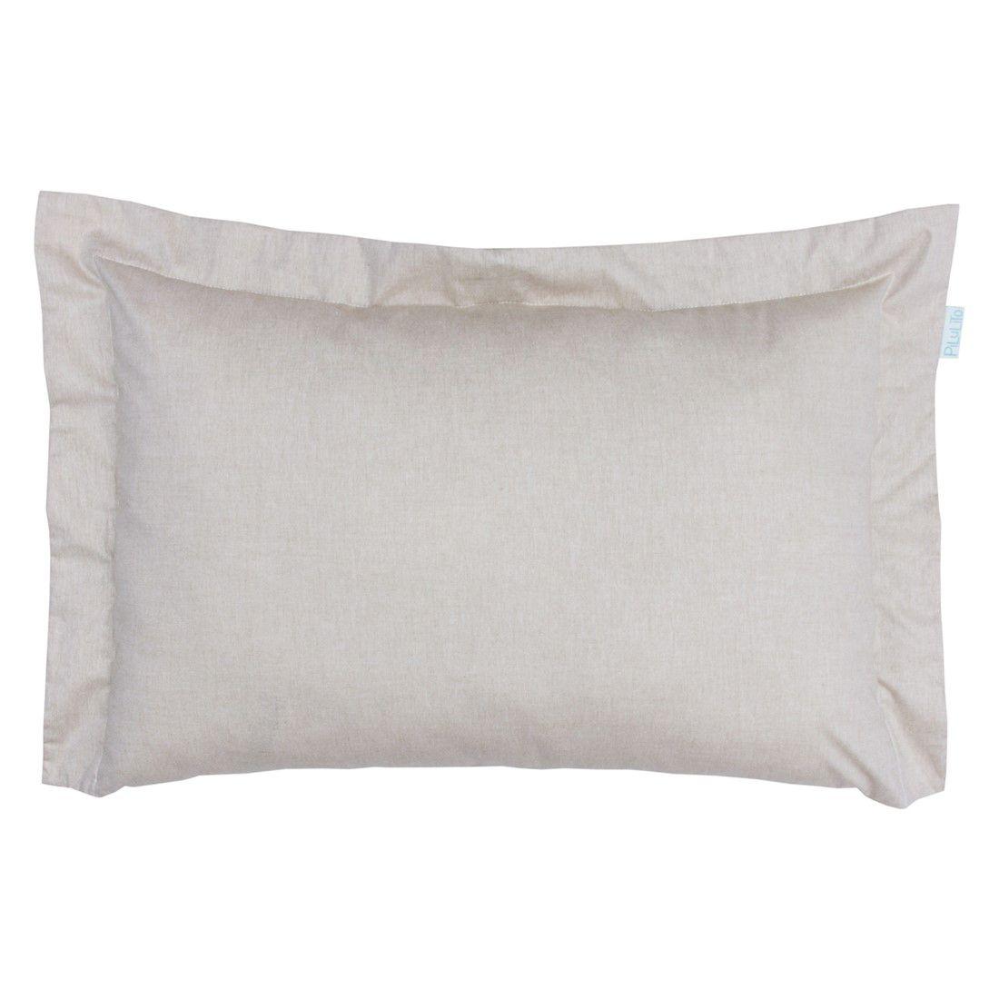Capa de almofada de cabeceira 60x40cm linho