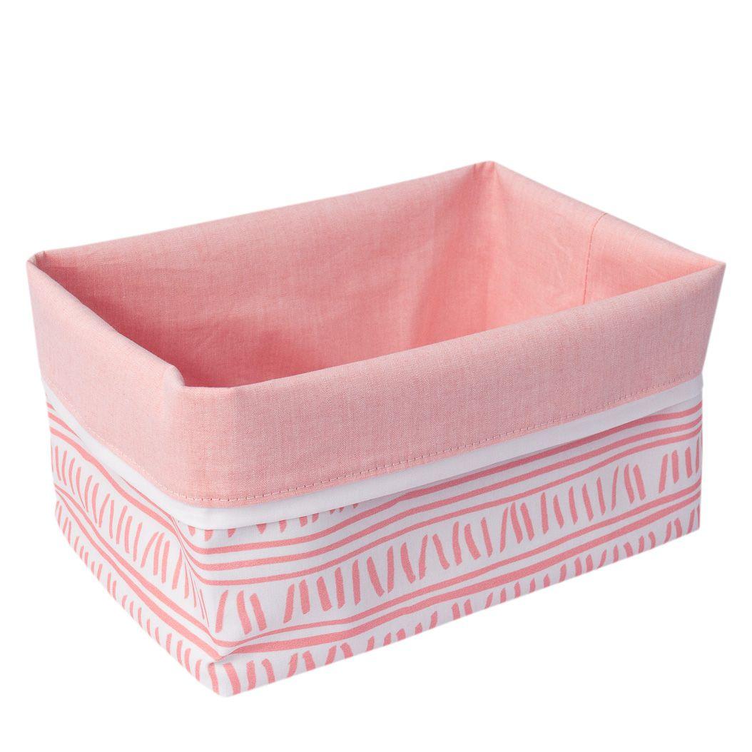 Cestinho organizador trilha rosa