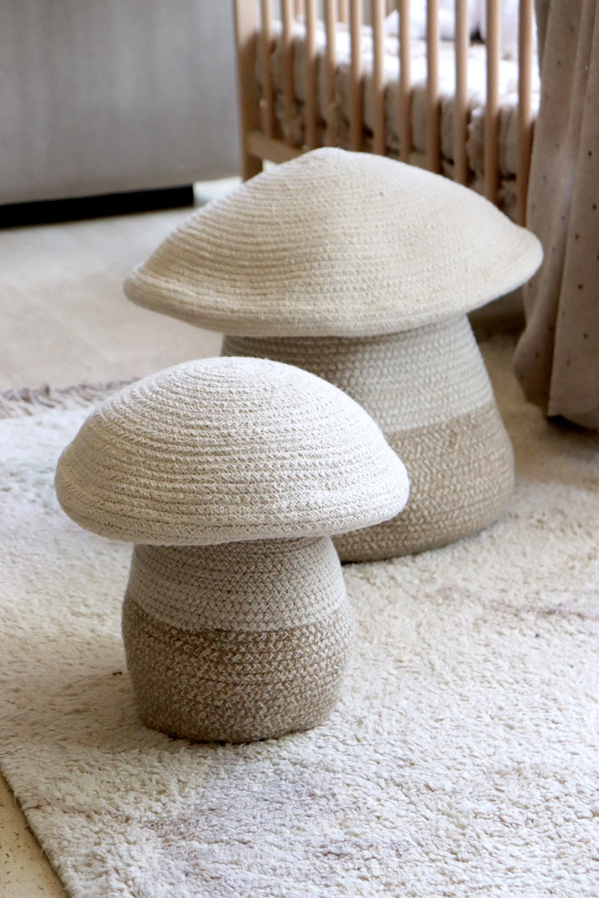 Cesto Lorena Canals Mama Mushroom 33 x 38 cm