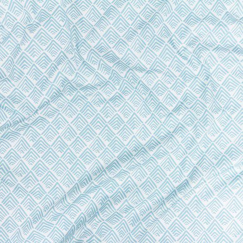 Cortina Oca Azul Céu 145 x 250 cm