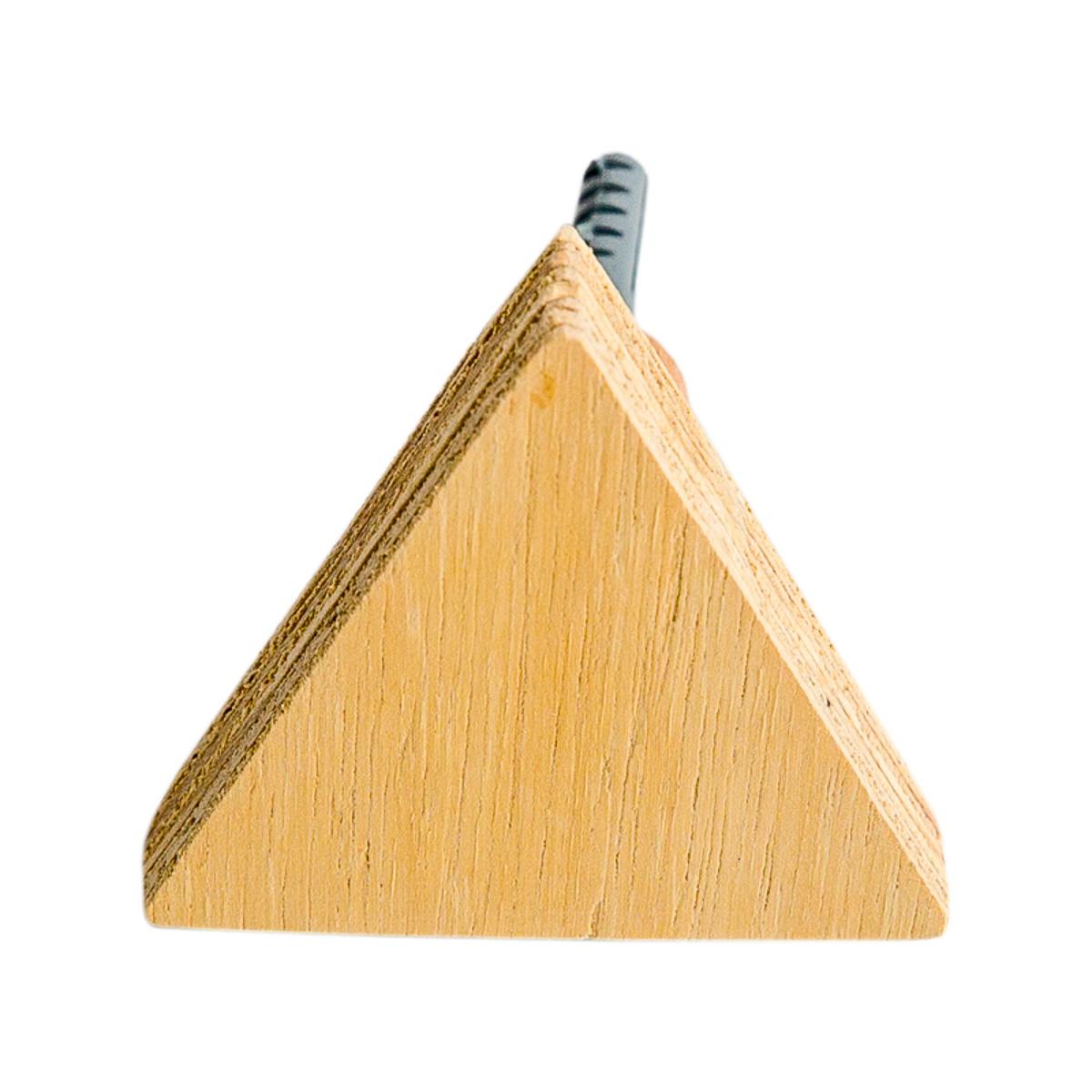 Gancho de Parede Triângulo Madeira