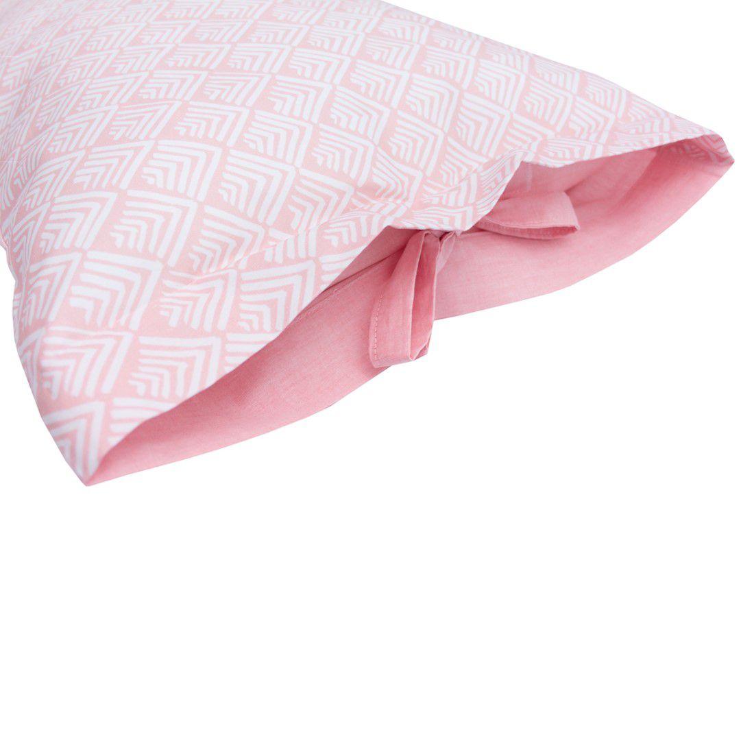 Jogo de lençol Oca Rosa