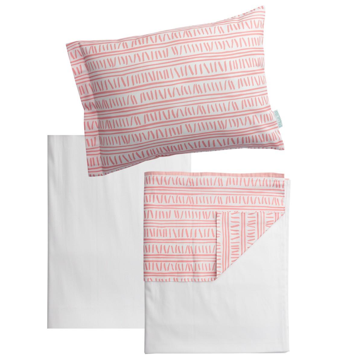 Jogo de lençol Trilha Rosa