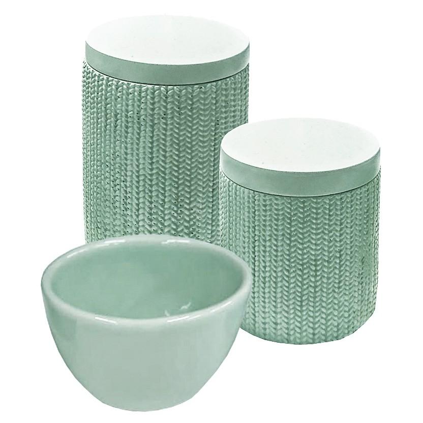 Kit Higiene Trama Verde