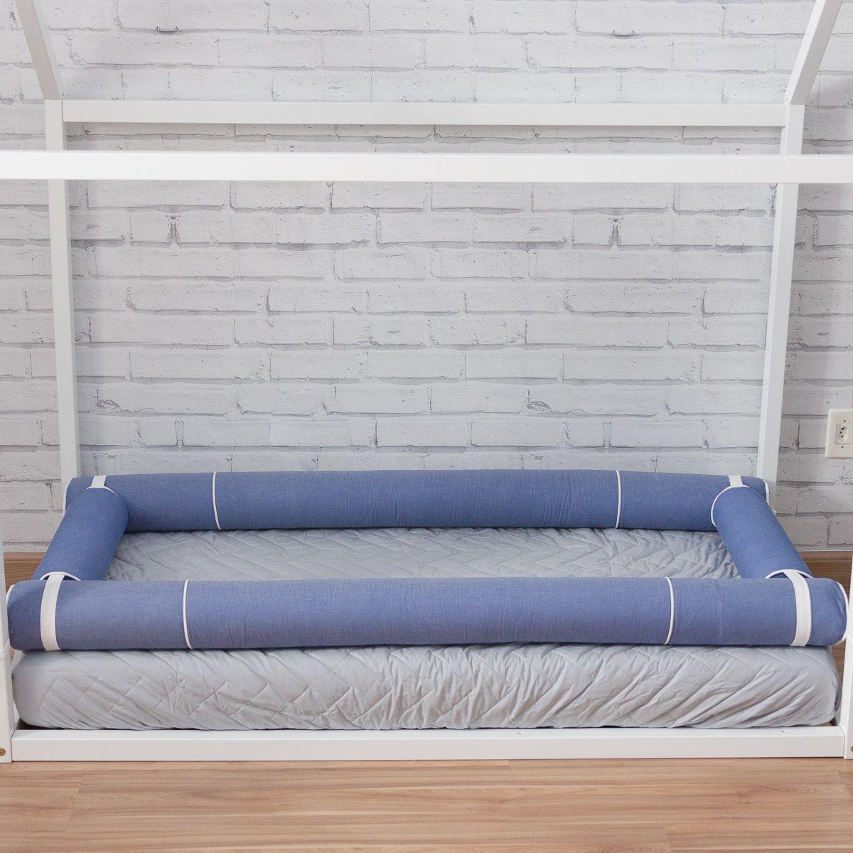 Kit Rolos Montessori Azul Jeans (4 peças)