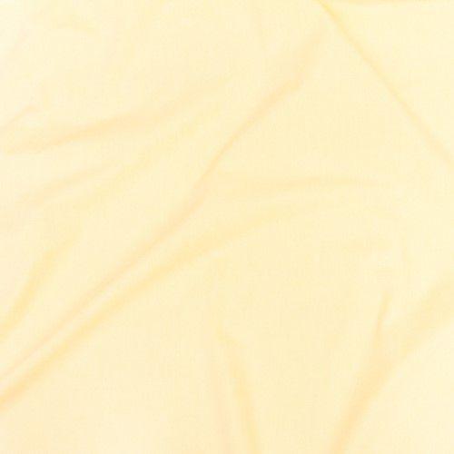 Lençol com elástico amarelo suave