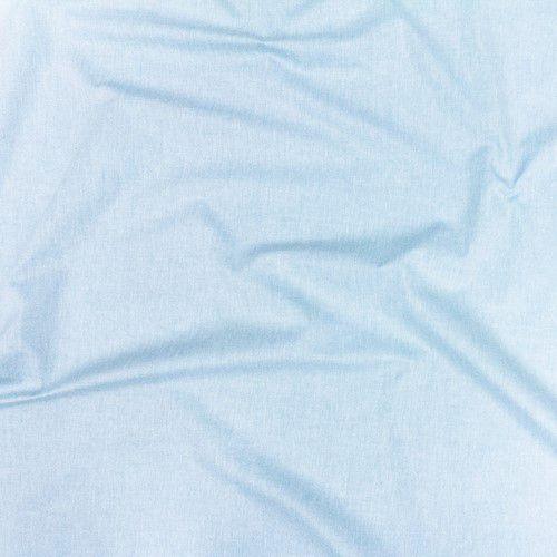 Lençol com elástico azul céu