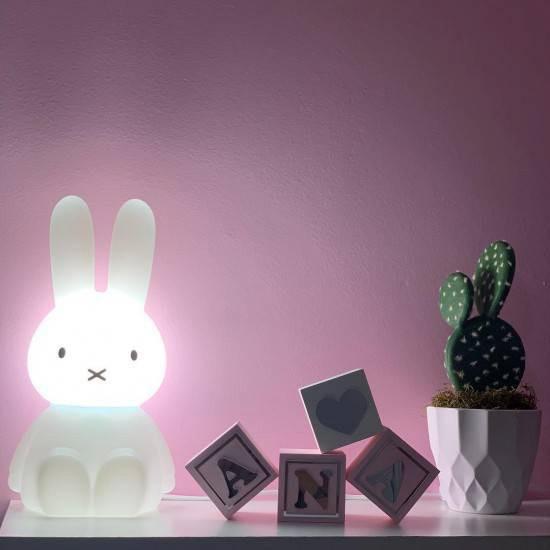Luminária Coelha Miffy G 45 cm