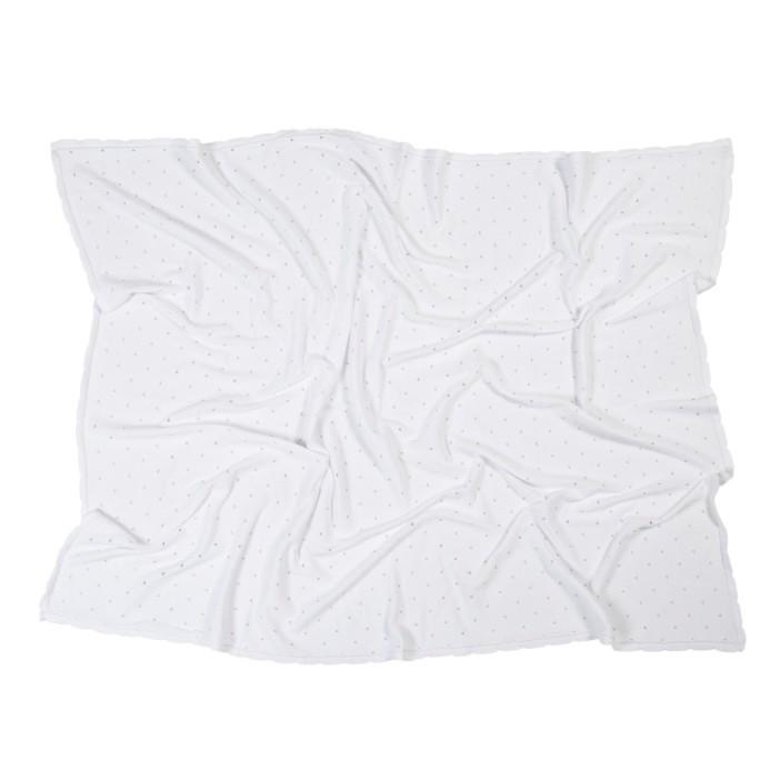 Manta Lorena Canals Galleta branco 120 x 90 cm