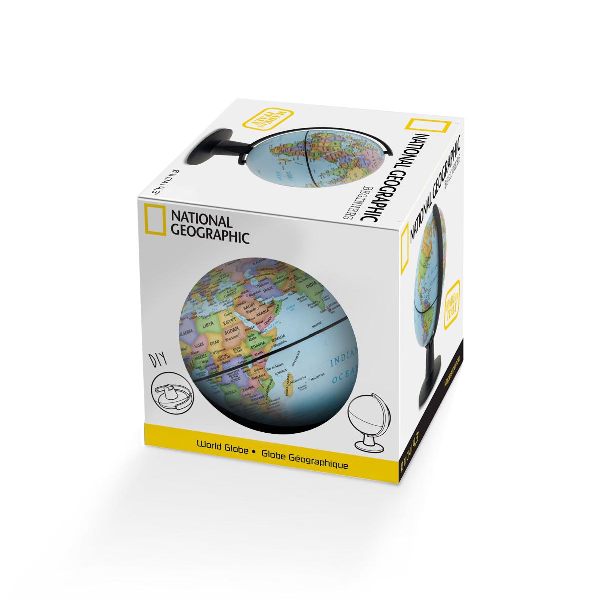 Mini Globo Terrestre National Geographic Beginners