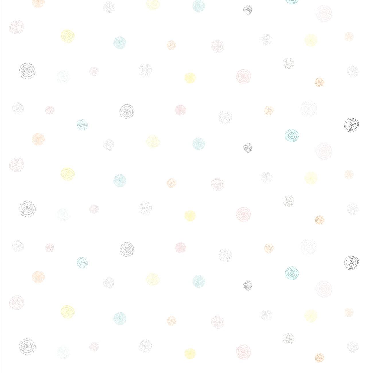 Papel de parede Círculos Coloridos