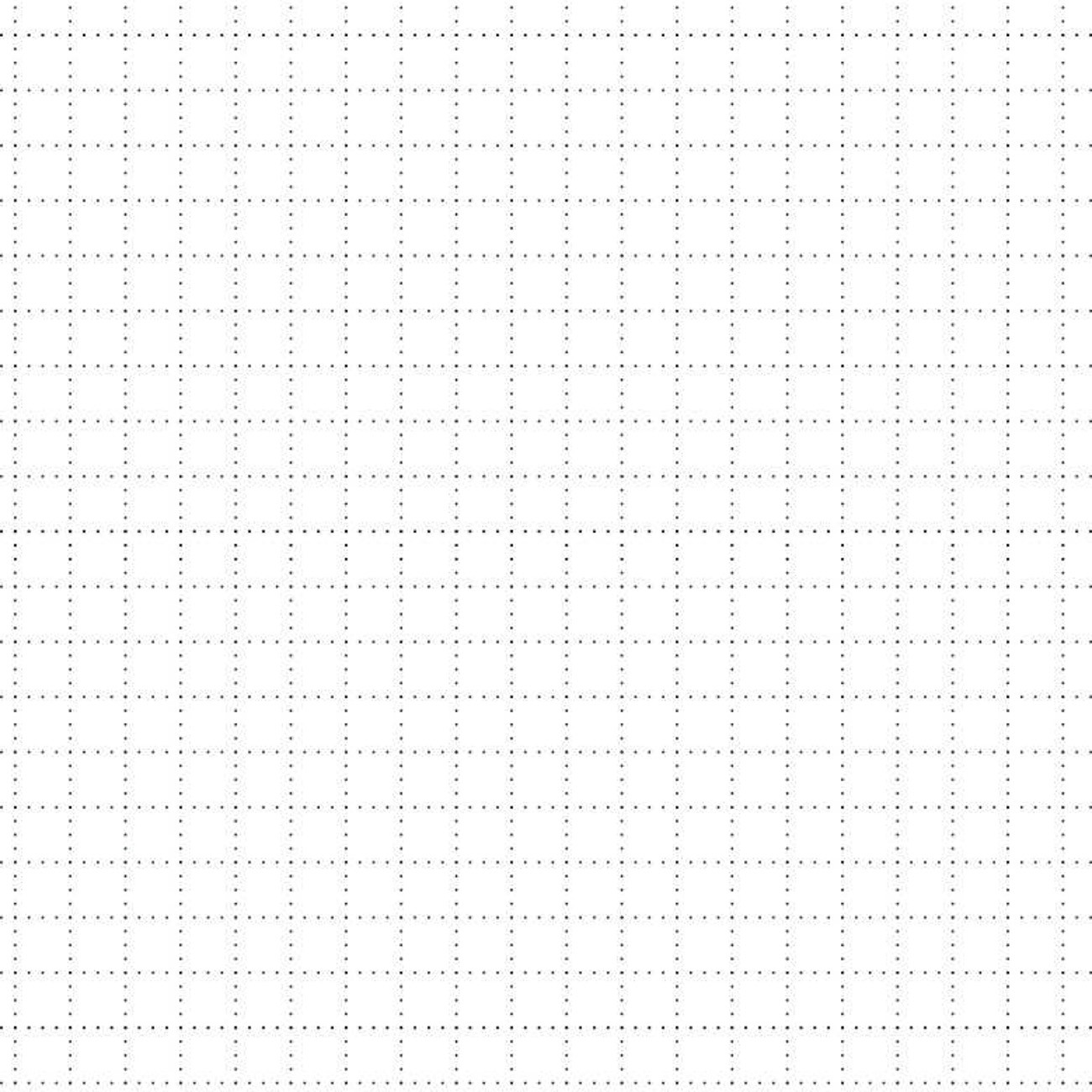 Papel de parede Grid Pontinhos Preto e Branco