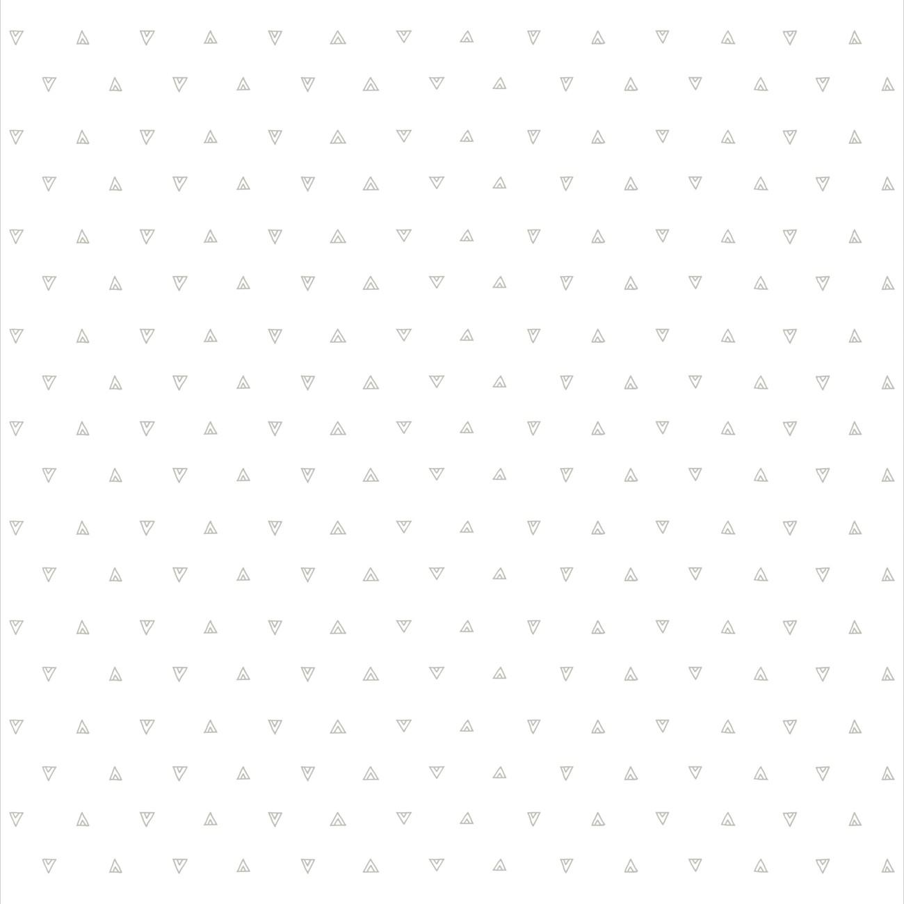 Papel de parede Mini Triângulos Cinza