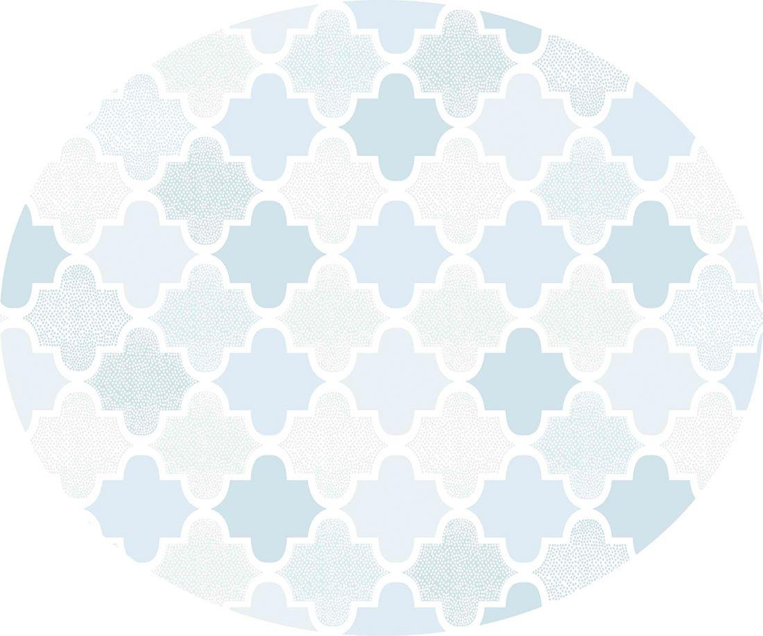 playmat arabesco azul