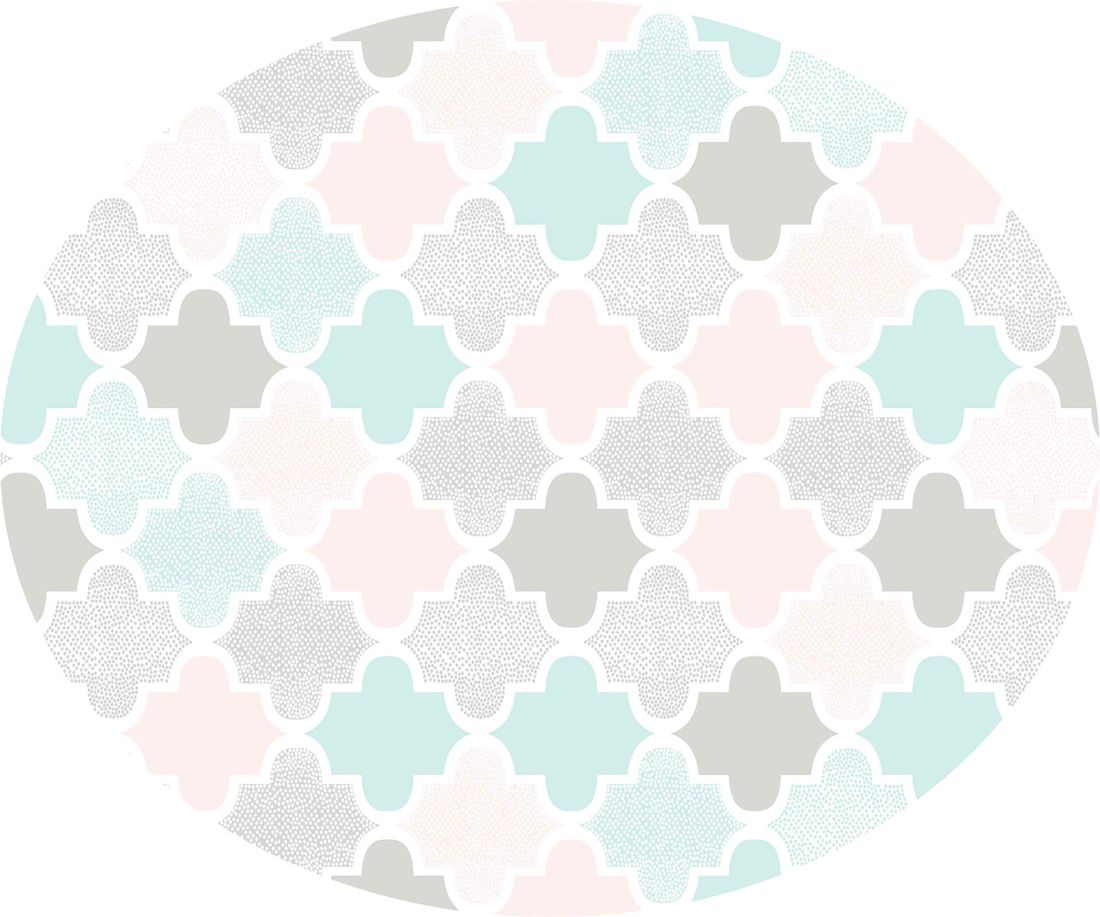 playmat arabesco rosa