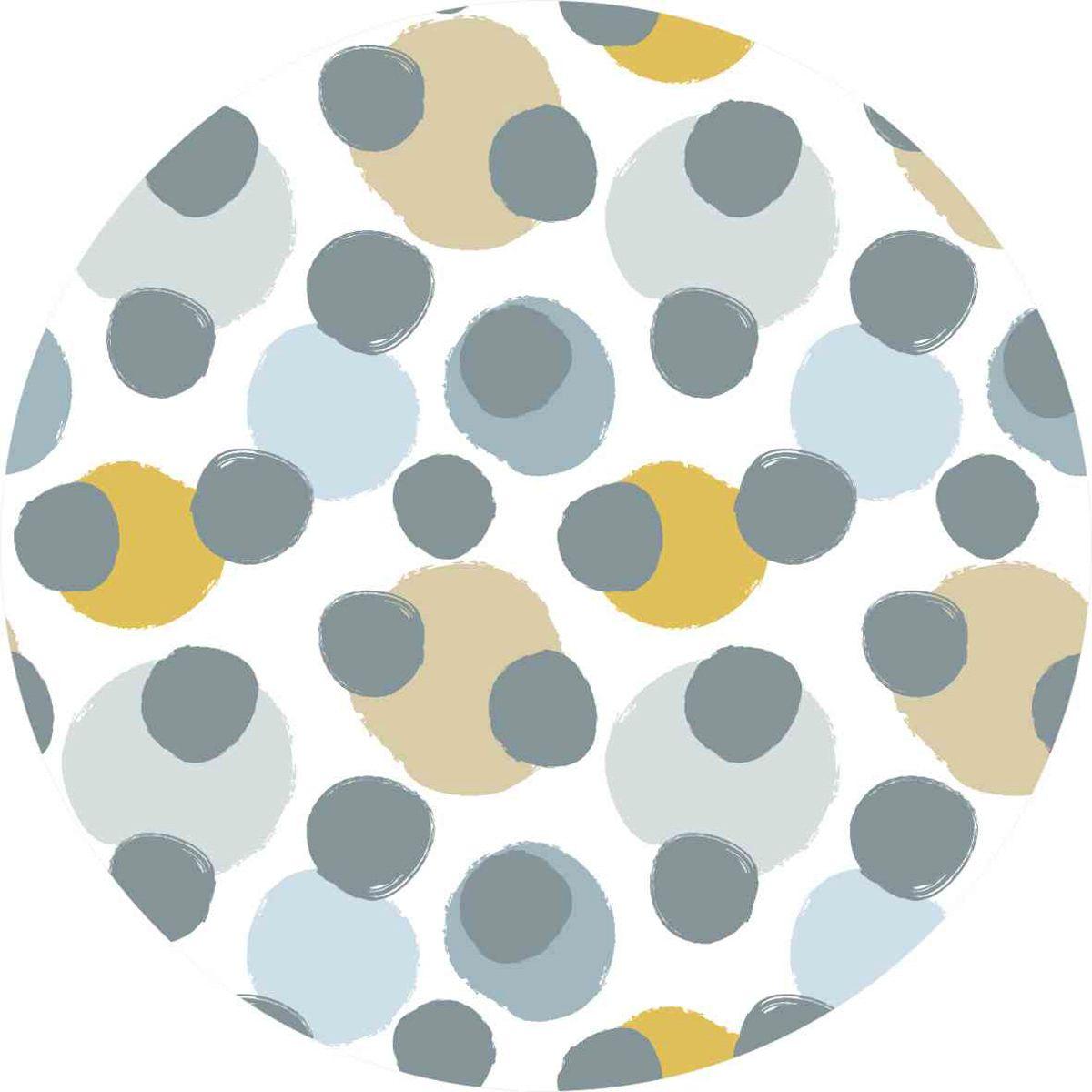 playmat bolas pinceladas azul 100 x 100 m